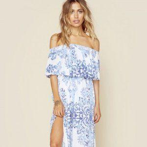 SHOW ME YOUR MUMU Hacienda Maxi Dress (RARE)